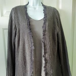 Super Soft Mauve Cardigan